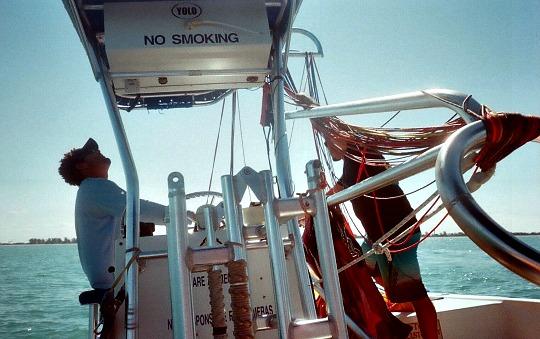 captiva boating