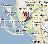 Cape Coral Map