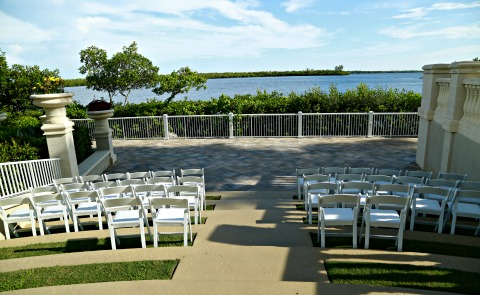 Tarpon point marina wedding