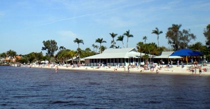 yacht club beach
