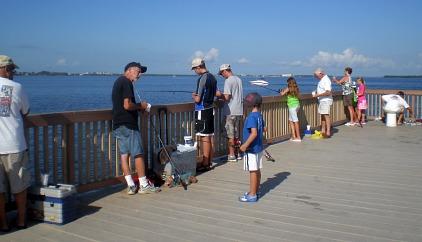 cape coral fishing pier