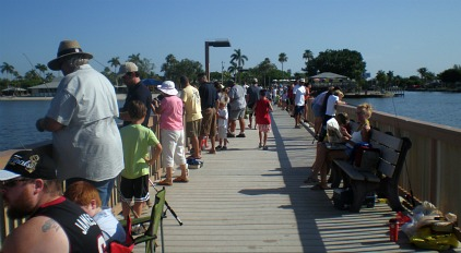Kids fishing derby for Cape coral fishing