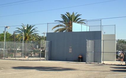 raquet ball court
