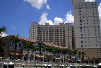 the resort at marina village