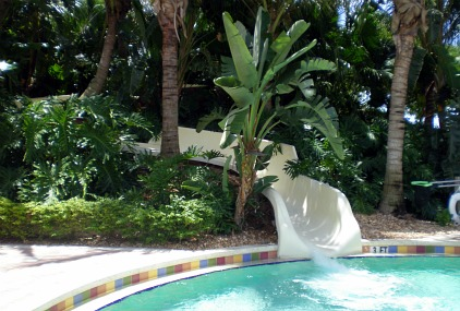 water slide for above ground pool