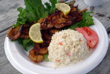 spicy shrimp kabobs