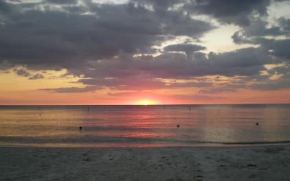 florida beach sunsets