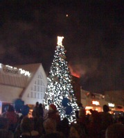 christmas tree lighting festival