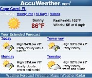 Cape Coral Weather