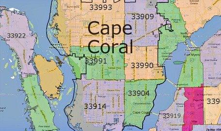 cape coral zip codes
