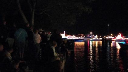 cape coral christmas boat parade