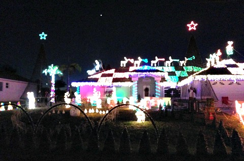 cape coral christmas lights